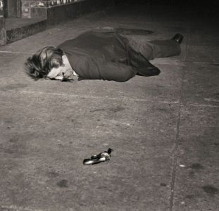 Crime photo by Weegee.